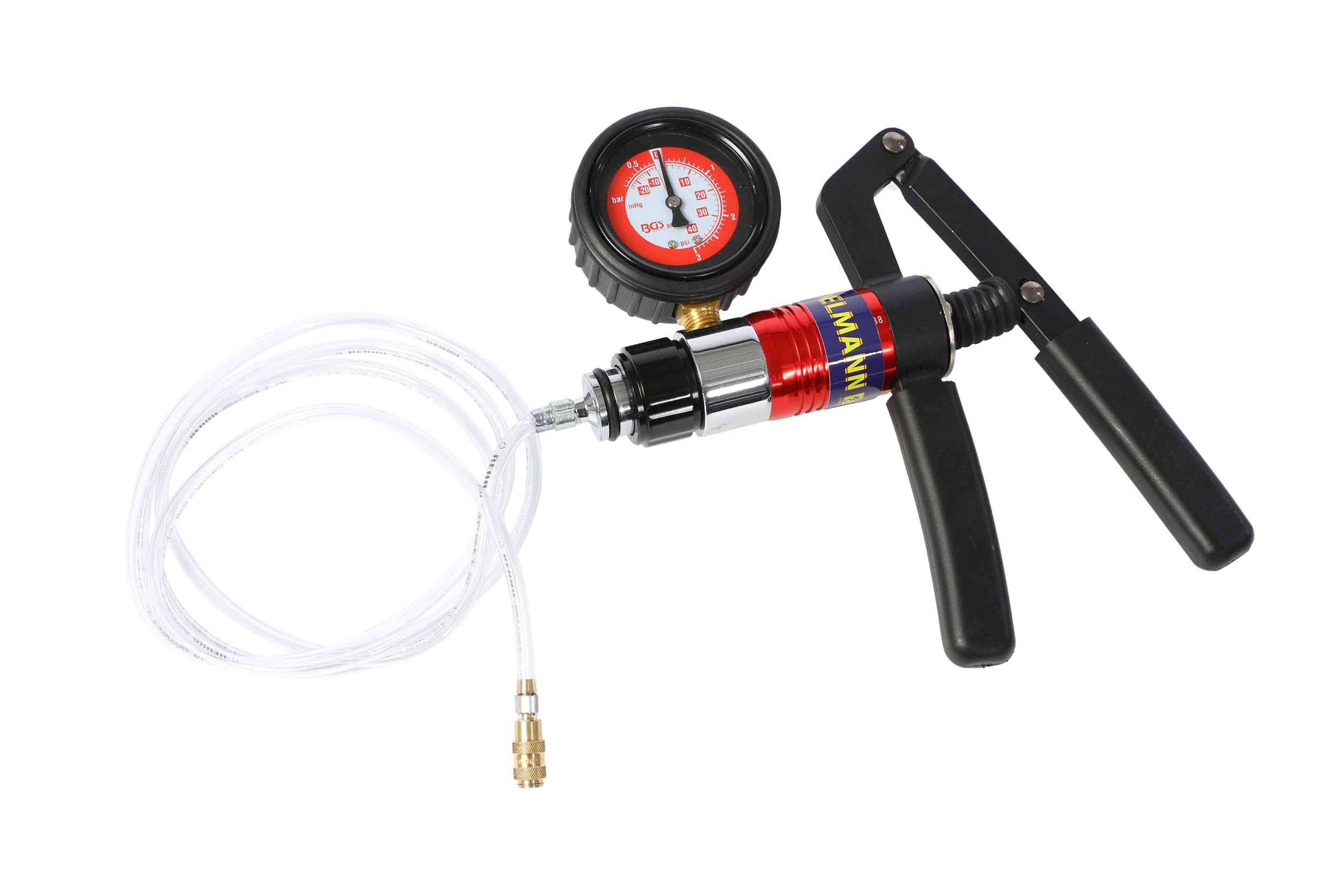 Unter/Überdruck Pumpe mit Schlauch für für Steinschlagreparatur Master