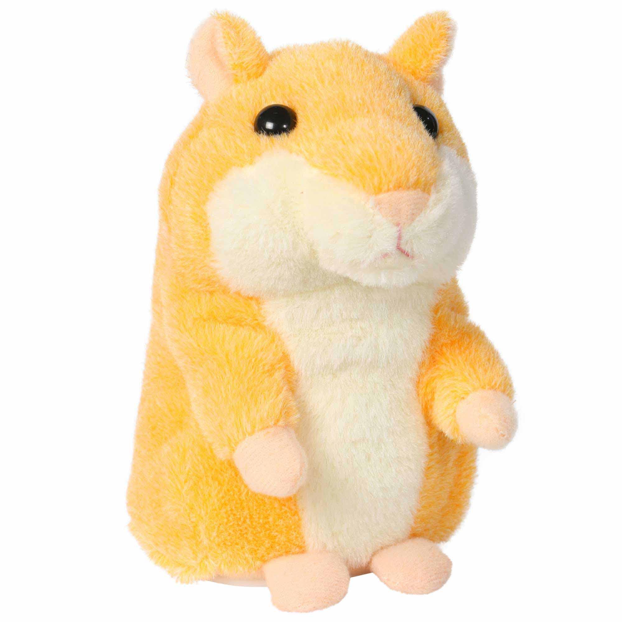 Sprechender Hamster gelb , spricht nach