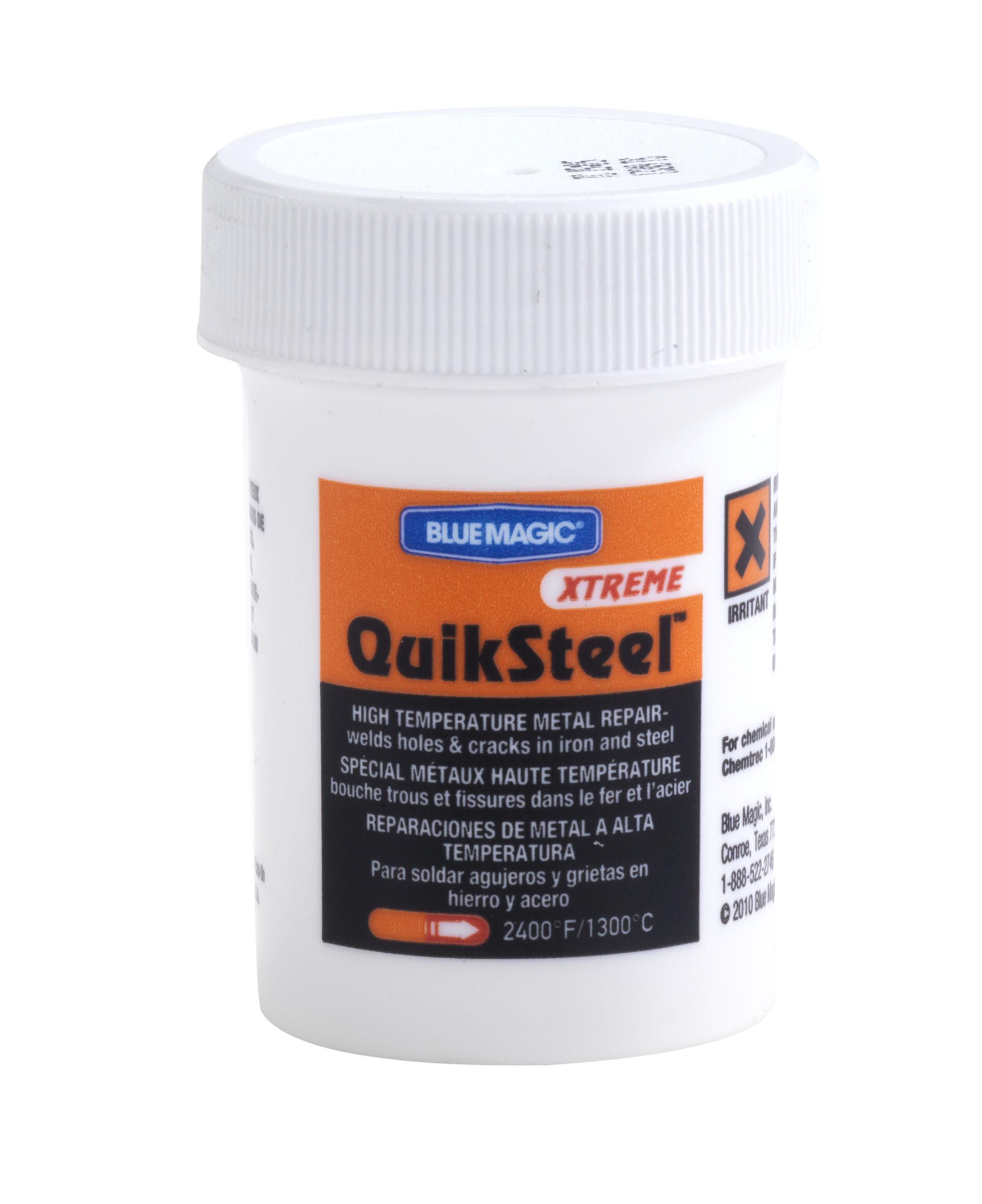 QuikSteel Kaltschweißmasse Flüssigmetall