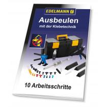 """Anleitung Klebetechnik """"10 Arbeitschritte"""" gedruckt"""