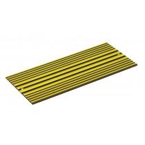Ersatzschild Fixierlampe gelb