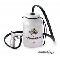 Restaurator 2.0 Sodablaster sodastrahlen aufbereiten von Alu, V2A, Messing, Kupfer, Bronze und mehr 7895
